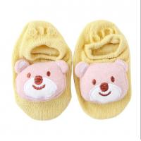 Quality Hot sell summer baby bow socks with cute animal pattern anti-slip socks for sale