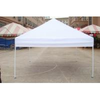 Quality Aluminum 420D White Color Folding Gazebo Tent Commercial Advertising use for sale