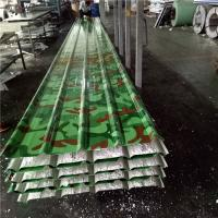 Quality army green waterproof 30mm silver paper eps sandwich roof panel for warehouse for sale
