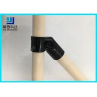 Quality 45 Degree Angled Pipe Connector Flexible Pipe Joint For Diy Pipe Rack HJ-9 for sale
