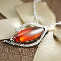 Quality Pendant, Made of 925 Sterling Silver with Zircon Materials for sale