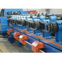 Quality Galvanized Steel Sheet CZ Purlin Roll Forming Machine 8-12m / Min Production Capacity for sale