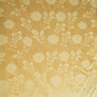 Quality TUV certified 100% Polyester Gold Mattress Cover Fabric Light resistance for sale