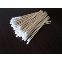 Quality Dental Lint Free Cotton Swabs Absorbent For Ear Cleaning Microbiology for sale