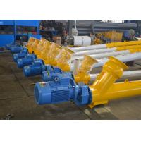 Quality LSY273 loading feed unloading helical auger screw conveyor for silo cement for sale