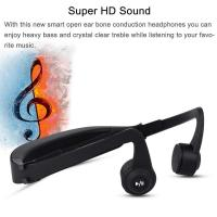 China Wireless  Gym Waterproof bone conduction microphone bluetooth Headset for Sport on sale