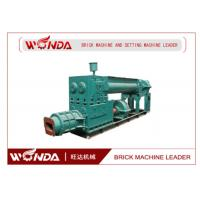 Quality Geramic Mixing Blade Automatic Brick Making Machine / Manufacturing Machine Vacuum Extruder for sale