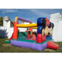 Buy Customized Mickey Mouse Inflatable Bounce House Moonwalk Bouncers With Logo Printing at wholesale prices