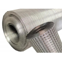 Quality Food Grade Metal Silver 304 Stainless Steel Welded Wire Mesh 30x1.2m for sale