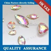 Quality china good quality sew on crystal ab rhinestone for cloth for sale