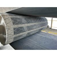 Quality Prevent conveyor belt from slipping head pulley rubber removable slide lagging for sale