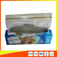 Buy Snap Seal Reusable Sandwich Bags For Coles Supermarket Large Size 35*27cm at wholesale prices