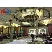 Quality Glass Finished Aluminum Stage Truss Outdoor For Weddings Party 80km / h for sale