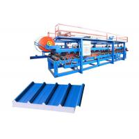 Quality Fireproof Roofing Sandwich Panel Production Line Raw Material Width 1000 / 1200mm for sale