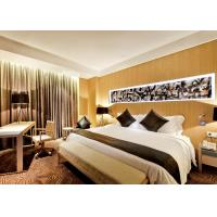 Luxury Optional New Hotel Bedroom Furniture Sets Highly Endurable Solid Surface