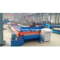 Quality Easy Operated Roll Former Machine 4267 mm Roofing Sheets Manufacturing Machine for sale