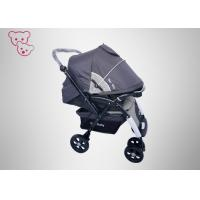 China Aluminum Frame Baby Jogger Stroller ,  Big Storage Basket Newborn Baby Stroller on sale