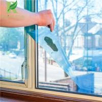 Quality 0.025-0.20mm Blue Clear Adhesive Window Protective Masking Film for sale