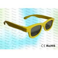Quality Master Image and Adult RealD, ABS Plastic framed Circular polarized 3D glasses for sale
