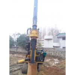 Piledriver Construction Hydraulic Piling Machine , 24m Pile Driver