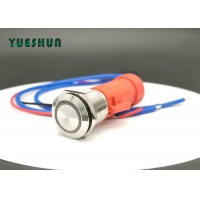 Buy cheap 250Vac IP67 Illuminated 19mm Momentary Panel Mount Push Button Switch from wholesalers