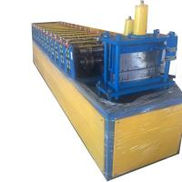 Buy cheap 4kw Stud Track Batten Light Steel Roll Forming Machine Shaft Material 45 Steel from wholesalers