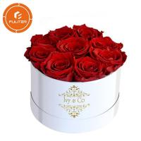 Quality High-end packaging flower gift box wholesale custom unique luxury rose gift box for sale