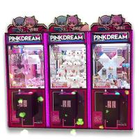 China PVC Material Dream Doll Claw Machine With LED Light / Arcade Crane Machine on sale