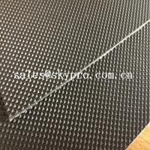 Quality Wear Resistant Anti Static Mini Diamond Top Fabric PU / PVC Conveyor Belting for sale