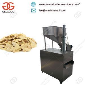 Quality Cheap Price High Speed Almond Flak Cutting Machine Good Cut Shape for sale