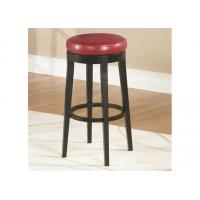 China Commercial Grade Bar Stools Solid Wood Leather 3 Years Warranty on sale