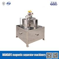 China 30000 Gauss Slurry Wet Magnetic Separator With High Gradient Magnetic Field on sale