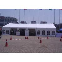 Quality 12m Span Small Outdoor Event Tent Translucent UV Protection With Window for sale