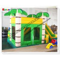 Quality Inflatable Palm tree bouncer,inflatable jumper for kid for sale