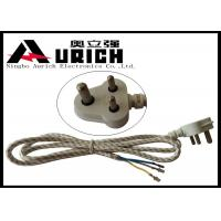 Quality South Africa India Three Prong Electrical Cord 3 Poles 3 Wires For Washer And Dryer for sale