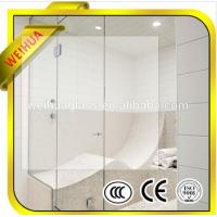 Quality Tempered Glass Bathroom Shower for sale