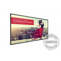 Quality 98 Inch Touch Wall Mount Lcd Monitor Digital Signage For Exhibit Advertising for sale