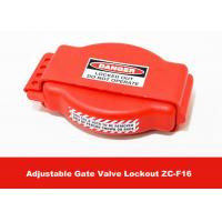 Quality Safety Production Tough LOTO Equipment , Adjustable Gate Valve Lock Out for sale