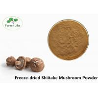 Quality Anti-cancer Freeze-dried Powder Shiitake Mushroom Powder For Supplement for sale