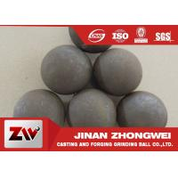 Quality 125mm Forged grinding media ball for ball mill with B3 B4 materials HRC 60-65 for sale