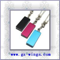 Quality WS806-Metal necklace USB Flash Disk for sale