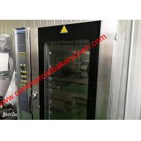 Quality 10 Trays Digital Control Electric Convection Oven , Stainless Steel Hot Air Oven for sale