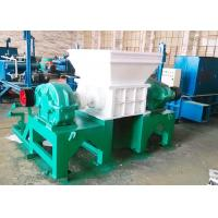 Quality PC Auto Control Commercial Tire Shredder / Tire Crushing Equipment CE Certificated for sale