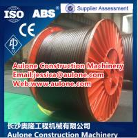 Quality High breaking force 2160mpa 8X26WS-IWRC Crane wire rope for sale