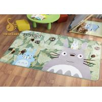 Quality Short Plush Digital 3D Printed Non Slip Area Rugs For Bedroom / Living Room for sale