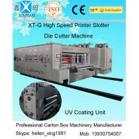 Quality Corrugated Carton Making Machine 15kw - 30kw With 0.5mm High Topping Precision for sale