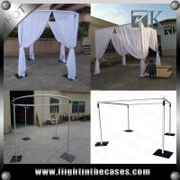 China aluminum pipe and drape wedding decoration used pipe and drape for sale on sale