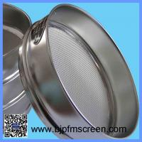 China Stainless Steel Laboratory Soil Testing Sieve on sale