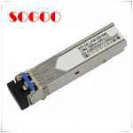 Quality 10G Bidi SFP Optical Module 10km T1270/R1330nm T1330/R1270nm 10G for sale