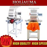 Quality Top sell single head computer machine embroidery clothes hat cap shoes and so on for sale